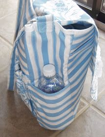 Morning by Morning Productions: Messenger Bag without a Lining Tutorial - Part Nice Ideas: Elastic loops to hold sippy cups. A snap button loop to fix keys etc. Sewing Tutorials, Sewing Projects, Bag Tutorials, Quilted Bag, Messenger Bag, Totes, Sew Bags, Sippy Cups, Nice Ideas