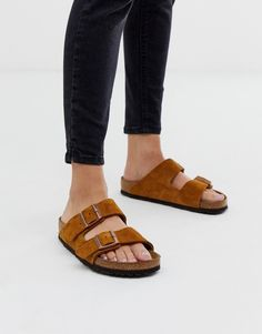 Order Birkenstock Arizona in mink suede online today at ASOS for fast delivery, multiple payment options and hassle-free returns (Ts&Cs apply). Get the latest trends with ASOS. Birkenstock Arizona, Birkenstock Sandals, Birkenstock Milano, Leather Flats, Real Leather, Asos, Flat Sandals, Outfits, Ankle Boots