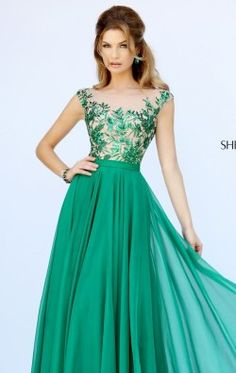 Embellished Long Gown by Sherri Hill 11214