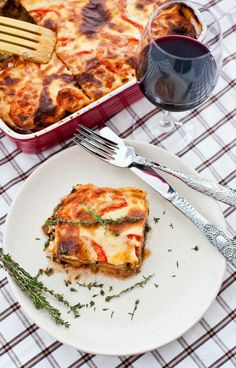This recipe for vegan moussaka by Mark Reinfeld contains no eggs, and the bechamel sauce is made with soy milk and vegan butter.