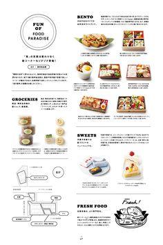 PAPER issue.01|阪神百貨店 Editorial Design Magazine, Menu Layout, Food Menu Design, Menu Book, Vintage Menu, Tea Design, Menu Boards, Coffee Menu, Ads Creative