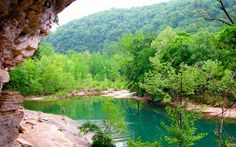 Buffalo River in the Ozarks, Arkansas