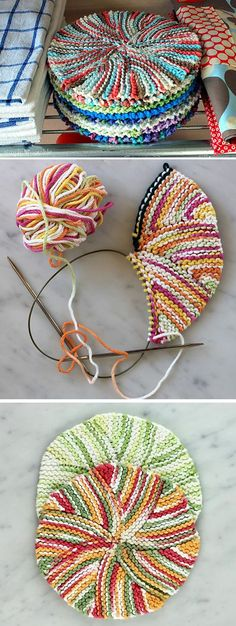 Amazing Knitting provides a directory of free knitting patterns, tips, and tricks for knitters. Dishcloth Knitting Patterns, Crochet Dishcloths, Knit Crochet, Crochet Patterns, Easy Knitting, Knitting Yarn, Crochet Crafts, Yarn Crafts, Knitting Projects