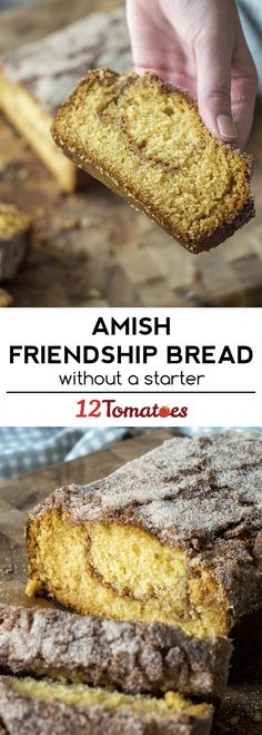 Amish Friendship Bread Without a Starter! So easy with this method.