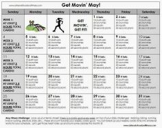 """Get Movin' May"": May Fitness Challenge #fitness #fitnesschallenge #may"