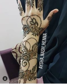 Khafif Mehndi Design, Full Hand Mehndi Designs, Mehndi Designs 2018, Mehndi Designs For Girls, Mehndi Designs For Fingers, Dulhan Mehndi Designs, Mehndi Designs For Hands, Mahandi Design, Henna Flower Designs