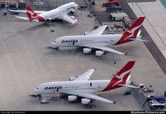 Qantas A380s and 747