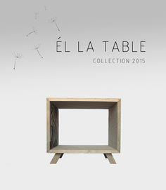 Él la side table Adidea Design