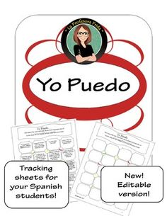 """Encourage your Spanish students to learn with this """"Yo Puedo"""" tracking sheet! There are 20 tasks that your students can complete to help them go above and beyond what is required of them in your Spanish class. There is also an editable PowerPoint"""