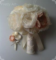 Bouquet vintage Pretty Art - Elo7