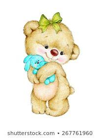 Cute Disney Drawings, Cute Animal Drawings, Cute Drawings, Teddy Bear Tattoos, Teddy Bear Quotes, Baby Disney Characters, Baby Animals, Cute Animals, Teddy Bear Pictures