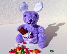 Purple Plush Kangaroo, Knitted Toy, Easter Stuffed Animal https://www.etsy.com/listing/182634939/purple-plush-kangaroo-knitted-toy-easter?ref=teams_post