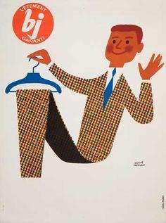 Vêtement BJ - illustration de Hervé Morvan - France -