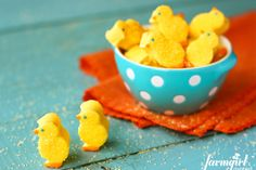 Homemade marshmallow peeps - 15 Easter Crafts, Activities, and Treats for Kids I Easter Ideas for Kids - ParentMap