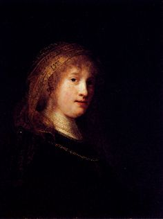 Saskia Wearing A Veil, 1634