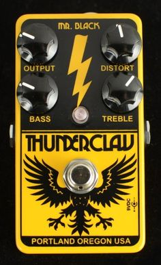Mr. Black Thunderclaw. Made in Portland and it looks badass.