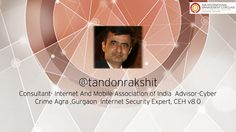 Mr. Rakshit Tandon commands great respect as an IAMAI consultant. An authority on #digital security, he has shared his expertise across various international platforms. He will be there at the #IMAConclave14 to inspire us with his #thoughts!