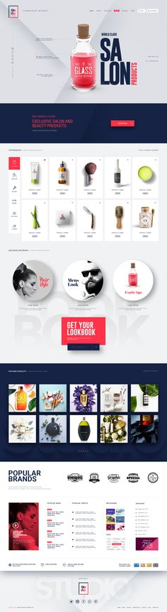 Studio Salon | A Modern Salon And Business Psd Template #business #creative #fashion • Download ➝ https://themeforest.net/item/studio-salon-a-modern-salon-and-business-psd-template/19734582?ref=pxcr