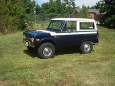 Uncut ford bronco early classic