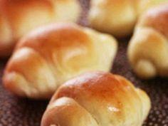 HBで♡基本のパン生地♥バターロールの画像