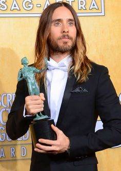 Jared Leto wins Best Supporting Actor at SAG Awards 1/18/14