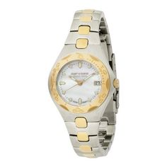 Rip Curl Women's A2167G-GOL Ocean Shell Gold-tone Stainless Steel Watch Rip Curl. $119.95. 316L stainless steel case and band: The highest grade of stainless steel for water resistance, strength and non-corrosion in a marine environment.. Water-resistant to 330 feet (100 M). Date function at 3:00 position. jeweled Movements: Synthetic rubies which serve as bearings for gears in watches. This reduces torque and friction allowing your watch to run more accurately for...