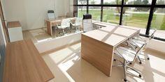 #Oficina #moderno #contract via @planreforma #sillones #sillas #escritorio #render-maqueta