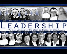 The 19 Superiors General of the Oblate Sisters of Providence.