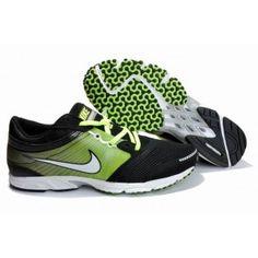 Nike Zoom Speed Racer 2 Mens Shoes Black Green 385943-313