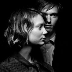 Mia Wasikowska - Henry Hopper / Actors / Black and White Photography by Denis Rouvre