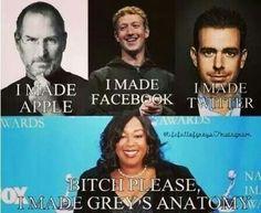 Grey's anatomy No. You ruined it Greys Anatomy Episodes, Greys Anatomy Funny, Greys Anatomy Cast, Grey Anatomy Quotes, Meredith Grey, Grey Quotes, Dark And Twisty, Grey Stuff, Funny Memes