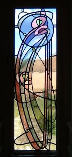 Stained Glass Panel (Leadline Studio)