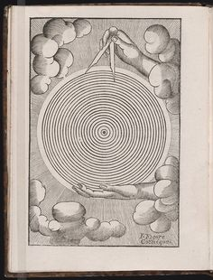 Illustration from The Book of Secrets: Woodcuts Displaying Symbols and Illustrations of Alchemical Processes, France c. 1656 via The Beinecke Rare Book and Manuscript Library