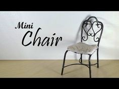 Miniature Vintage Inspired Chair Tutorial                                                                                                                                                      More