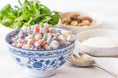 Ensaladilla con legumbres - CreatiVegan.net