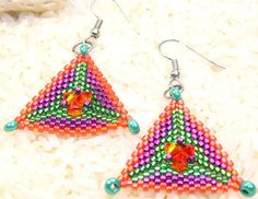 Hey, I found this really awesome Etsy listing at https://www.etsy.com/listing/156535382/peyote-stitch-seed-bead-dangle-earrings