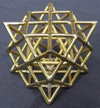 Sacred Geometry ~ The Tantric Terra Prana Star, which is a nesting of a star tetrahedron and a cube octahedron is immensely powerful. Also known as 'the quickening this form reconnects a deep circuit within the kundalini energy system and stimulates the thyroid, regulating the metabolism and protecting against electricity and microwaves. Juliet Carter