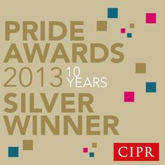 Engage Comms Ltd silver winner of Corporate & Business Communications Campaign and Outstanding Small Consultancy at the CIPR Yorkshire & Lincolnshire PRide Awards 2013.