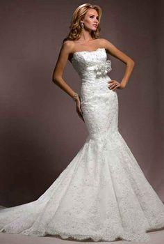 Amazing Mermaid Wedding Dresses 2013.  I like the top part only Dresses | Big Fashion Show mermaid wedding dresses