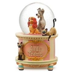 Lady and the Tramp, Disney | Snow Globe