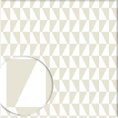 Tapete TRAPEZ graubeige - BORAS Wallpaper -