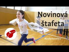 Novinová štafeta pre deti - YouTube Pe Games, Kids Party Games, Physical Education Games, Yoga For Kids, Team Building, Physics, Youtube, Baseball Cards, School