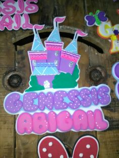 Stickers, Desserts, Things To Make, Kids Rooms, Stall Signs, Princesses, Presents, Manualidades, Tailgate Desserts