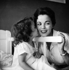 Shirley Temple and daughter Lori in 1957.        Pinning made easy! http://www.pinny.co Pin any photo in any website with a click.