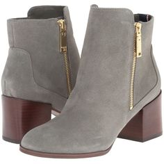 Tommy Hilfiger Dita Women's Dress Zip Boots ($139) ❤ liked on Polyvore featuring shoes, boots, zip ankle boots, polishing leather boots, side zipper boots, zipper boots and leather boots