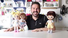 Fabric Doll Pattern, Fabric Dolls, Doll Crafts, Diy Doll, Muñeca Diy, Diy Barbie Furniture, Homemade Dolls, Handmade Soft Toys, Sewing Dolls