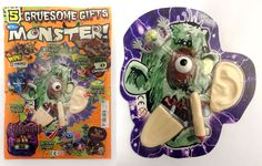 Gruesome Monster set produced by IMI for Monster! Mag. For more covermount ideas please visit www.kidscovermounts.com