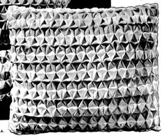 Vintage Crafts and More - Smocked Gingham Pillow Instructions