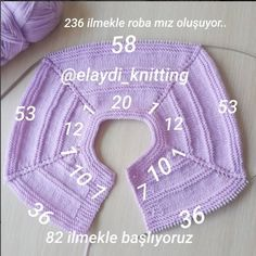 Discover thousands of images about Garter Yoke Baby Cardigan free Knitting Pattern Baby Knitting Patterns, Knitting Stitches, Baby Patterns, Blanket Patterns, Easy Knitting, Knitting For Kids, Crochet For Kids, Knitting Projects, Cardigan Bebe