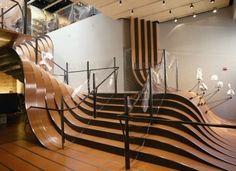 Moderne Treppen Ideen- verschiedene Modelle und Farben - http://archzine.de/architektur/moderne-treppen-ideen/